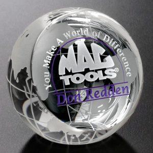 Clipped Globe